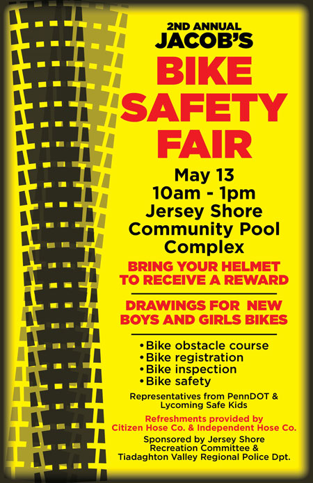 2nd Annual Jacob's Bike Safety Fair