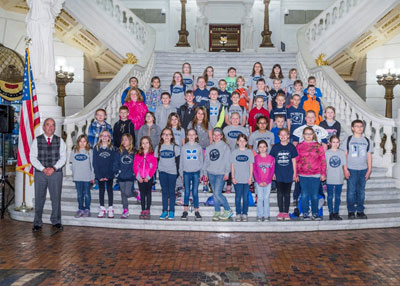 Muncy 4th Grade visits capitol