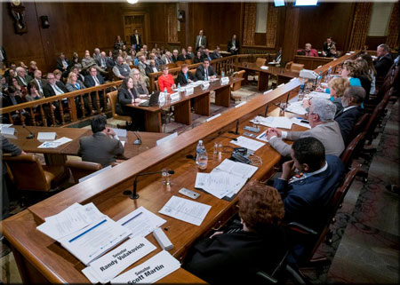 Joint Hearing on Department consolidation